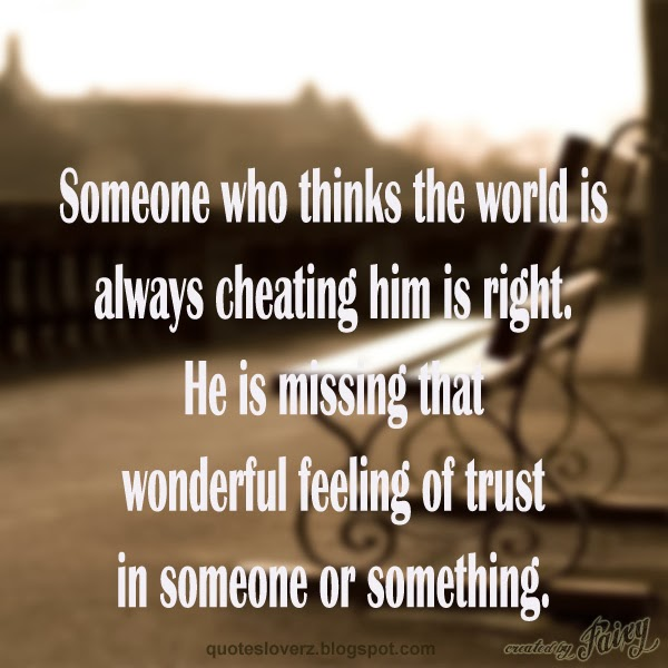 quotations on trust - photo #18