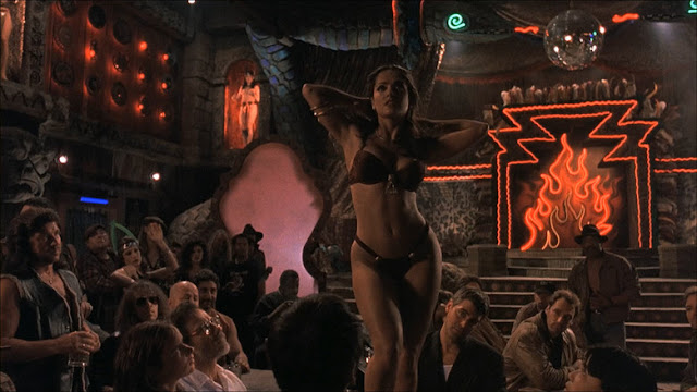 Salma Hayek From Dusk Till Dawn dance