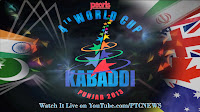 Kabaddi Matches (Day 4) of 4th World Kabaddi Cup 2013
