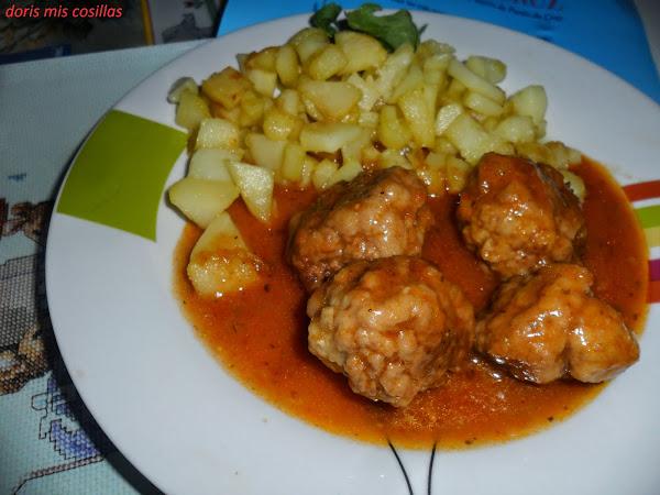 Guarnicion de patatas fritas cocinar en casa es - Guarnicion para albondigas ...