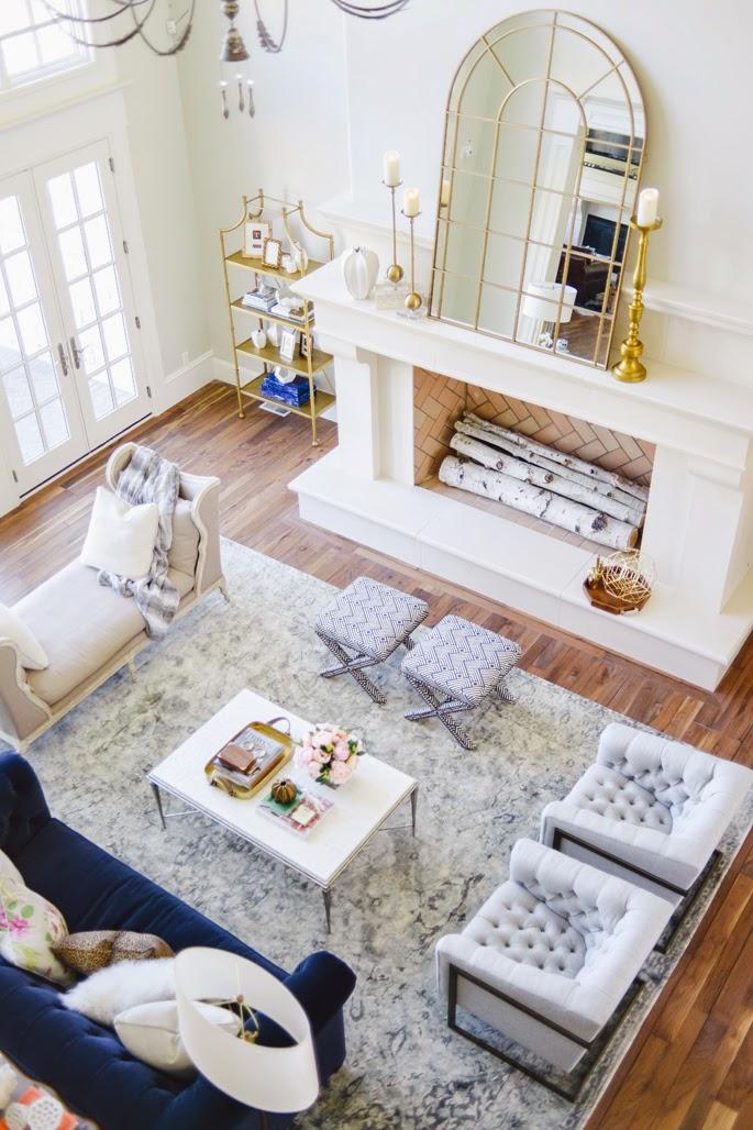 Preppy dreamy living room daily dream decor bloglovin for Dream living room ideas