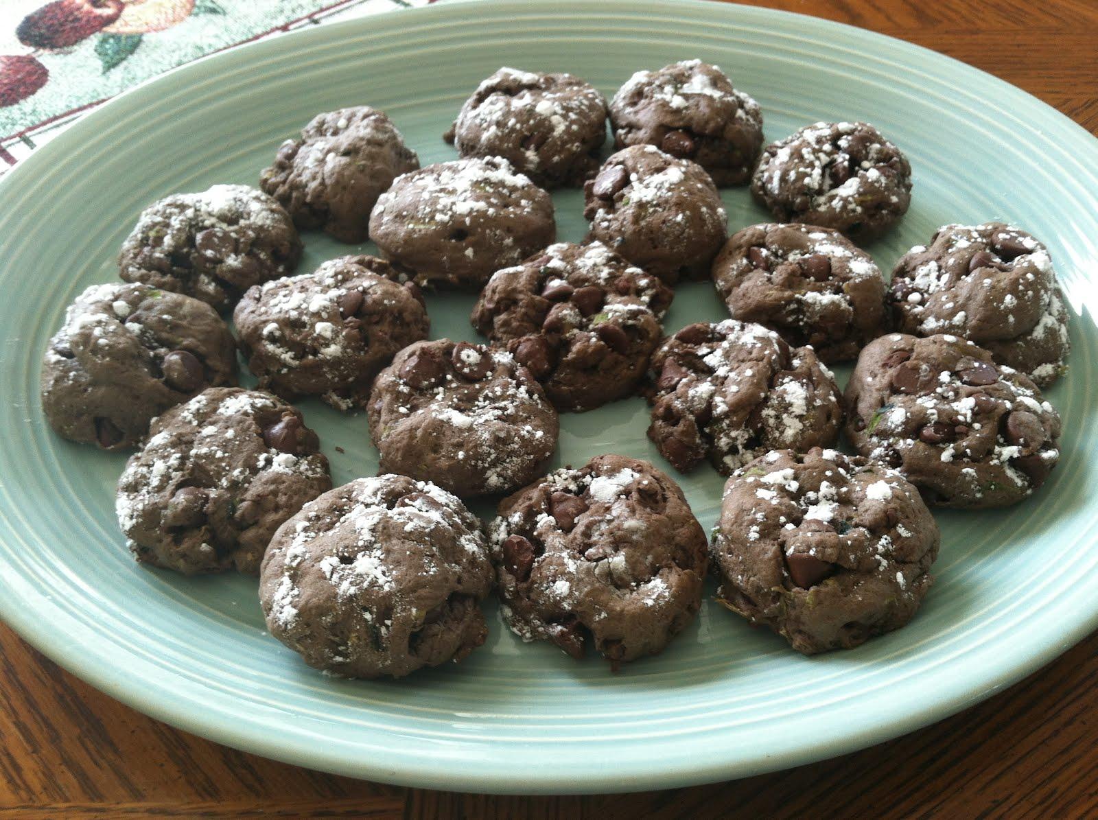 Produce Pantry: Fudge Zucchini Cookies