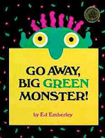 bookcover of Go Away Big Green Monster!  By Ed Emberly
