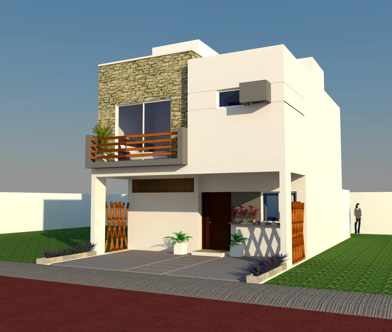 Casa ro residencial arbolada by cumbres cancun - Diseno de casas 3d ...