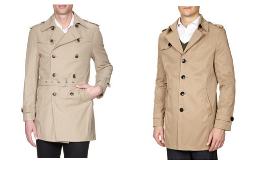 Man trench coat, Fashion ID