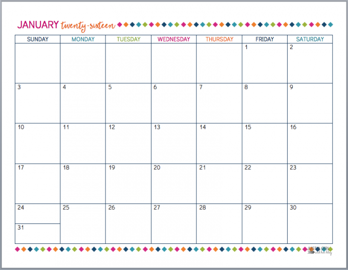 November 2015 Calendar Printable Writable | Calendar Template 2016