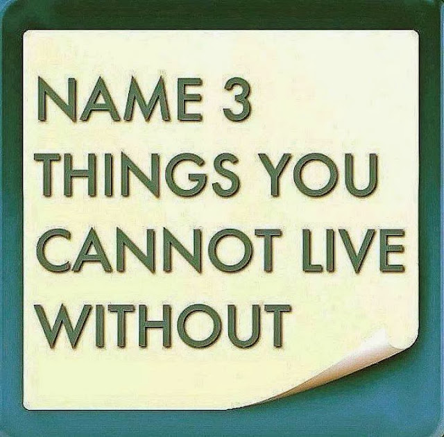 essay on 5 things i cannot live without Things i cant live without quotes - 1 after all this time, i've now realized, that i cant live without you right now i want you back so bad you're all i wanted for christmas, i just.