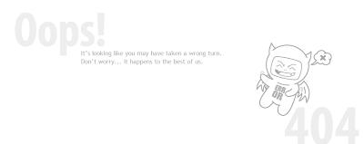 oops error 404