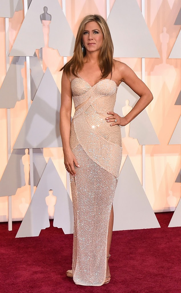 Jennifer Aniston em Versace
