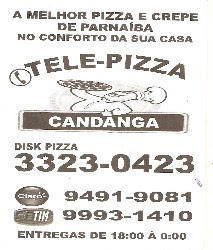 Vende-se Tele-Pizza CANDANGA