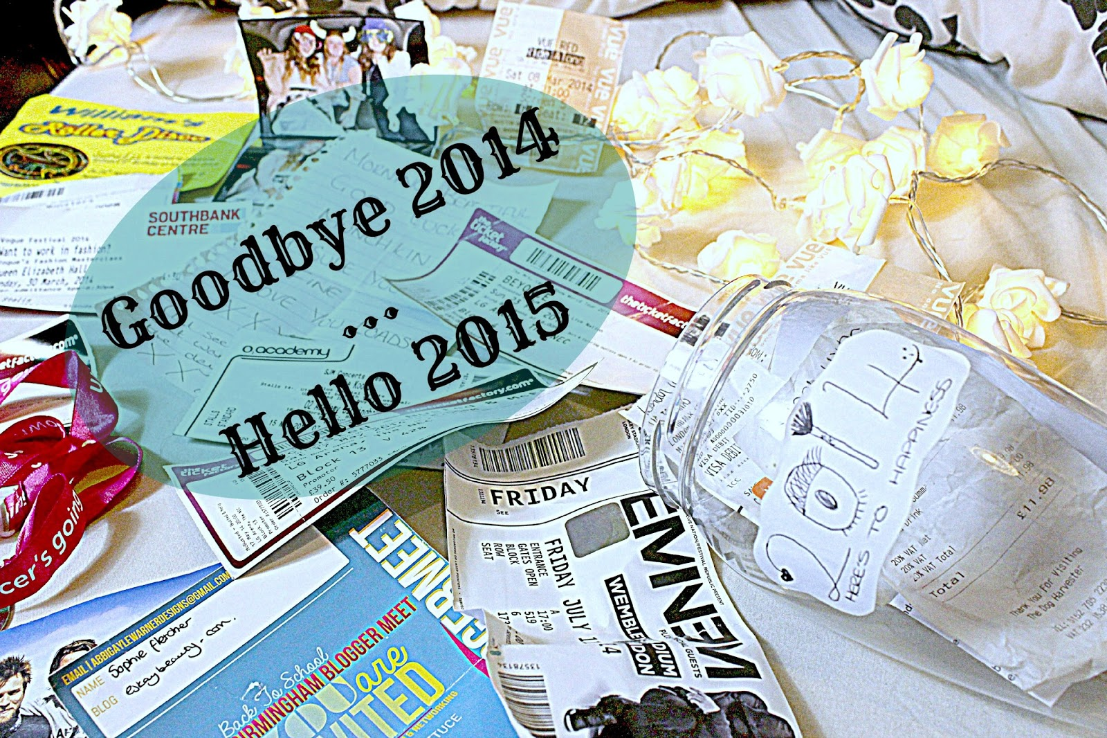 Goodbye 2014 ... Hello 2015 | Eskaybeauty