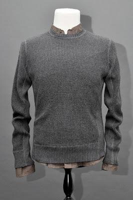 WAFFLE CREW - Mens Cardigan ,Blazer