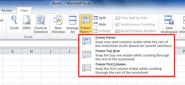 Excel Freeze Row Tutorial Excel Lock Row Tutorial The