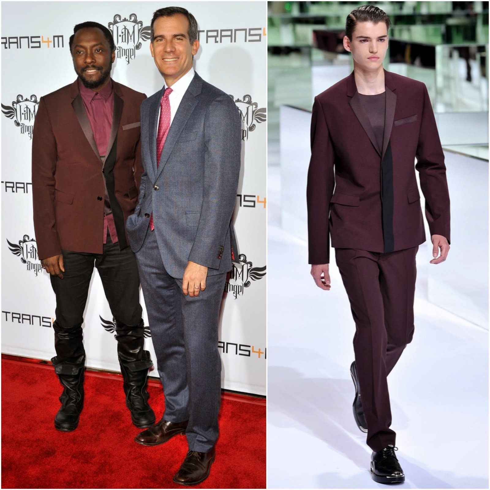 Will.i.am in Dior Homme - Third Annual TRANS4M Concert Benefitting The i.am.angel Foundation