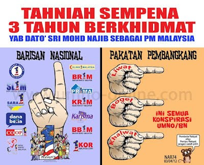 PM KITA...PENERAJU KEJAYAAN MALAYSIA