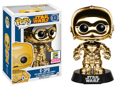 "San Diego Comic-Con 2015 Exclusive Star Wars ""Chrome"" C-3PO Pop! Vinyl Figure by Funko"