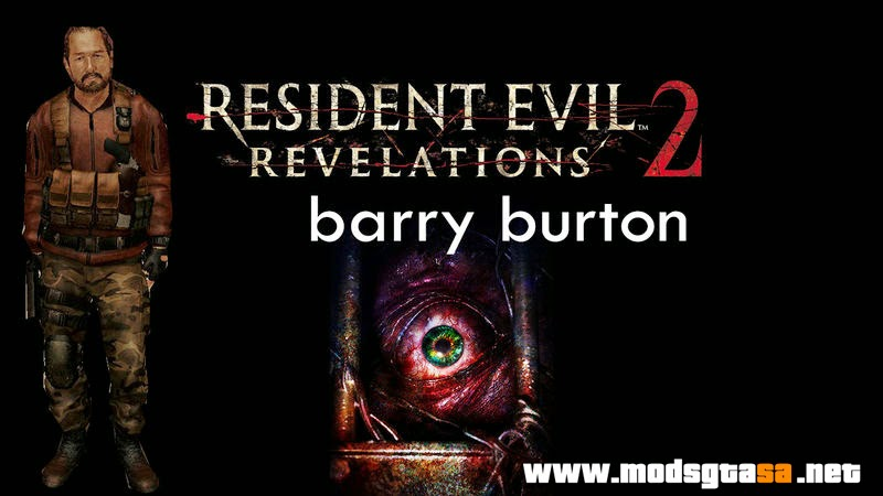 SA - Skin Barry Burton do Resident Evil Revelations 2