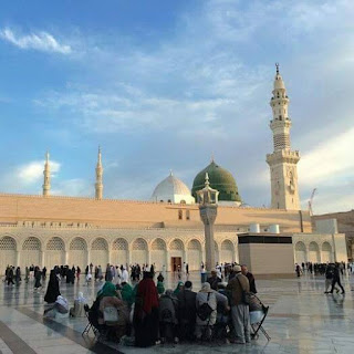 Masjd-e-Nabvi Peace Be Upon Him, Madina