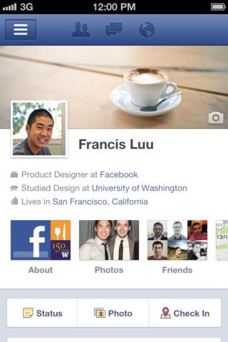 Aplikasi Facebook Versi 4.1 untuk Iphone