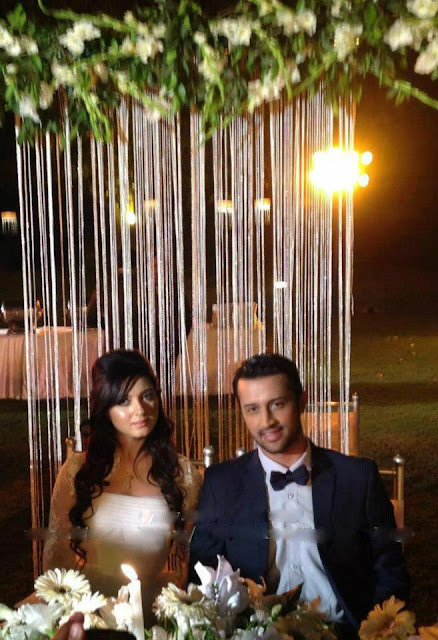 pakistancelebrities.blogspot.com - Atif Aslam Wedding With Sara Bharwana