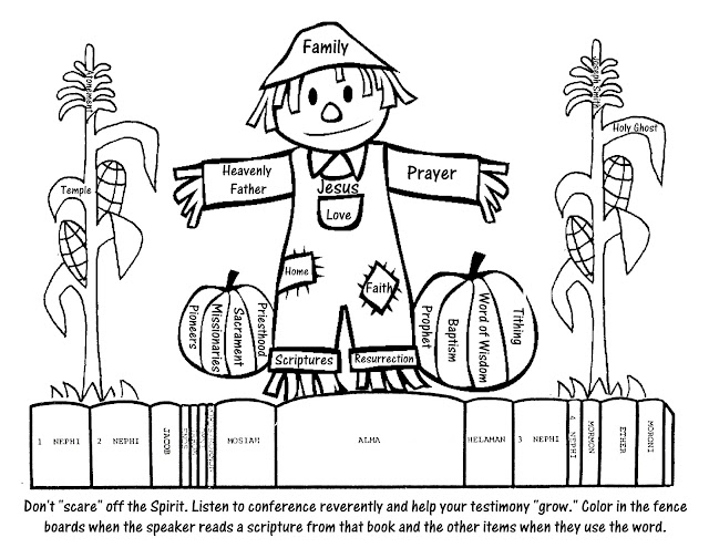 fall christian coloring pages - photo#21