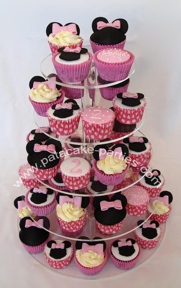 Minnie Mouse Cupcake Stand   Car Interior Design