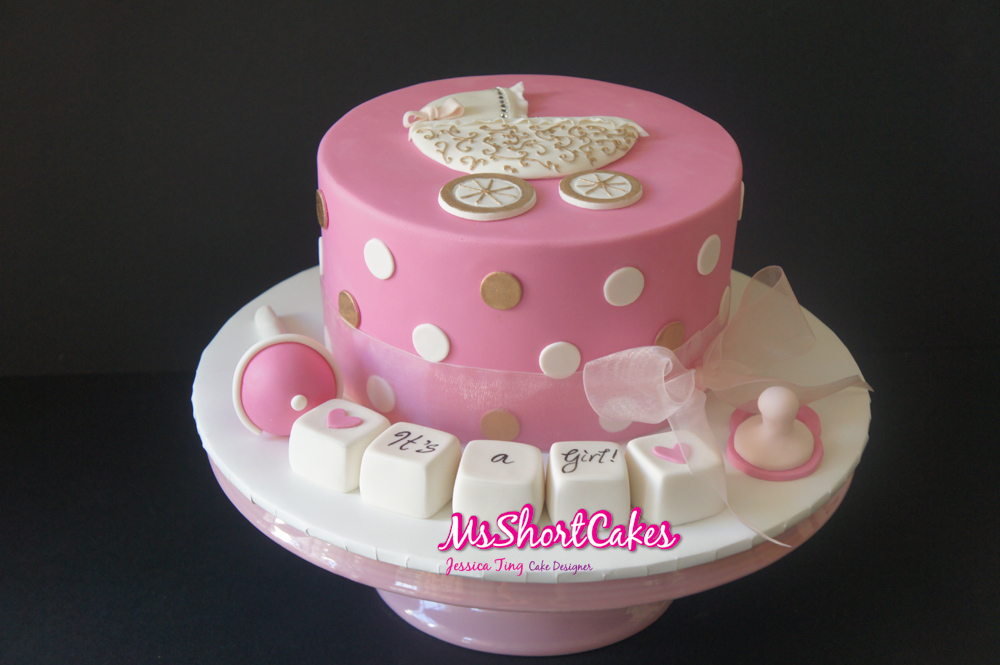 have to make this a miss shortcakes signature baby shower cake