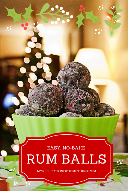 Get the holiday party started with this simple Rum Balls recipe! No-bake treats that are sweet and tasty... a special something for the grown-ups! These are great for Christmas, but don't forget to make them ahead!
