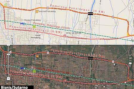 Gambar Peta Jalur Mudik Lebaran 2014 Terbaru Download Gratis Digital Online