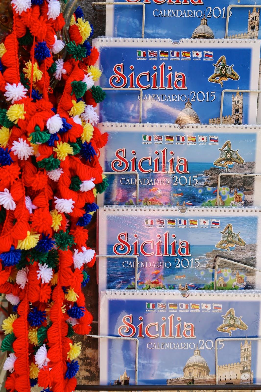 Sicilian calender, Palermo, Sicily
