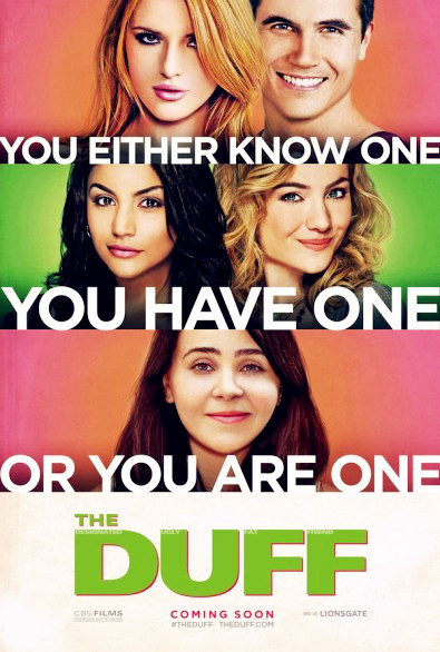 The DUFF (2015) Movie Film Sinopsis - Bella Thorne, Robbie Amell, Mae Whitman