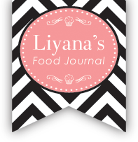 Liyana's Food Journal