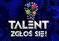 Logo programu Talent zgłoś się!