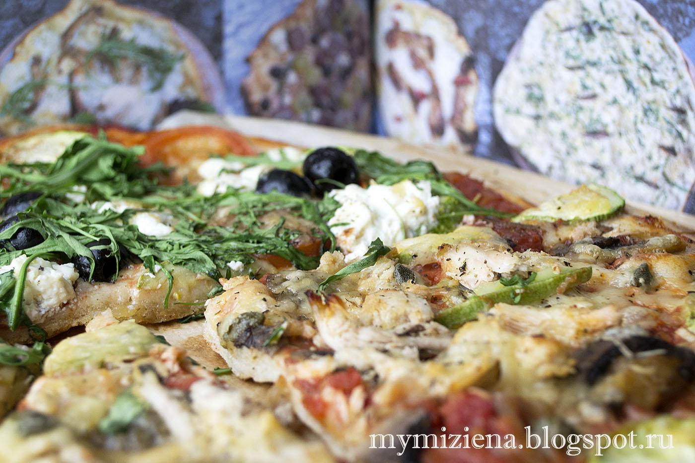 пицца по рецепту Джейми Оливера