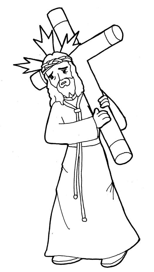 Dibujos para catequesis: JESÚS NAZARENO
