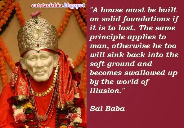 Sai Baba Quotes On Love On Quotestopics