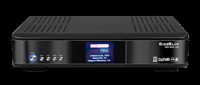 Atualizacao do receptor Gigablue HD 800 UE V4.2