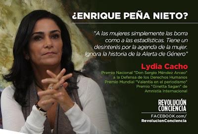 Lydia Cacho - Journalistin