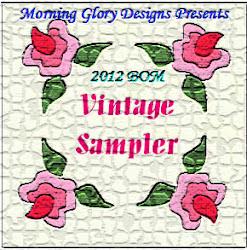 2012 BOM - Vintage Sampler