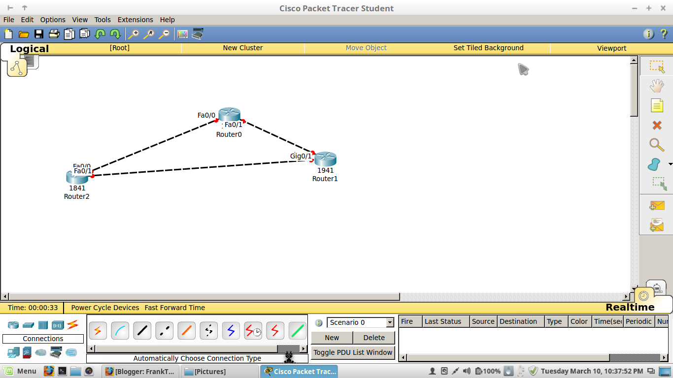 packet tracer linux mint