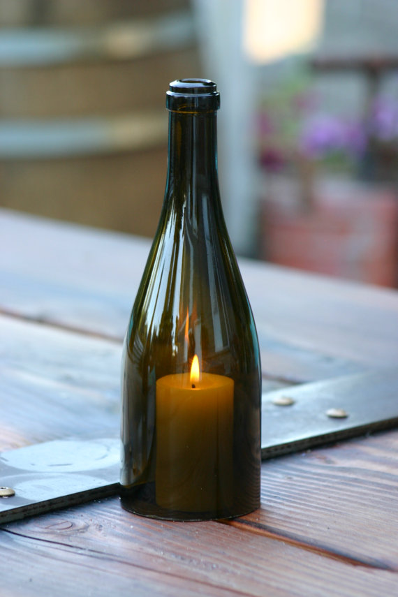 Louisville wedding blog the local louisville ky wedding for Champagne bottle candle holders