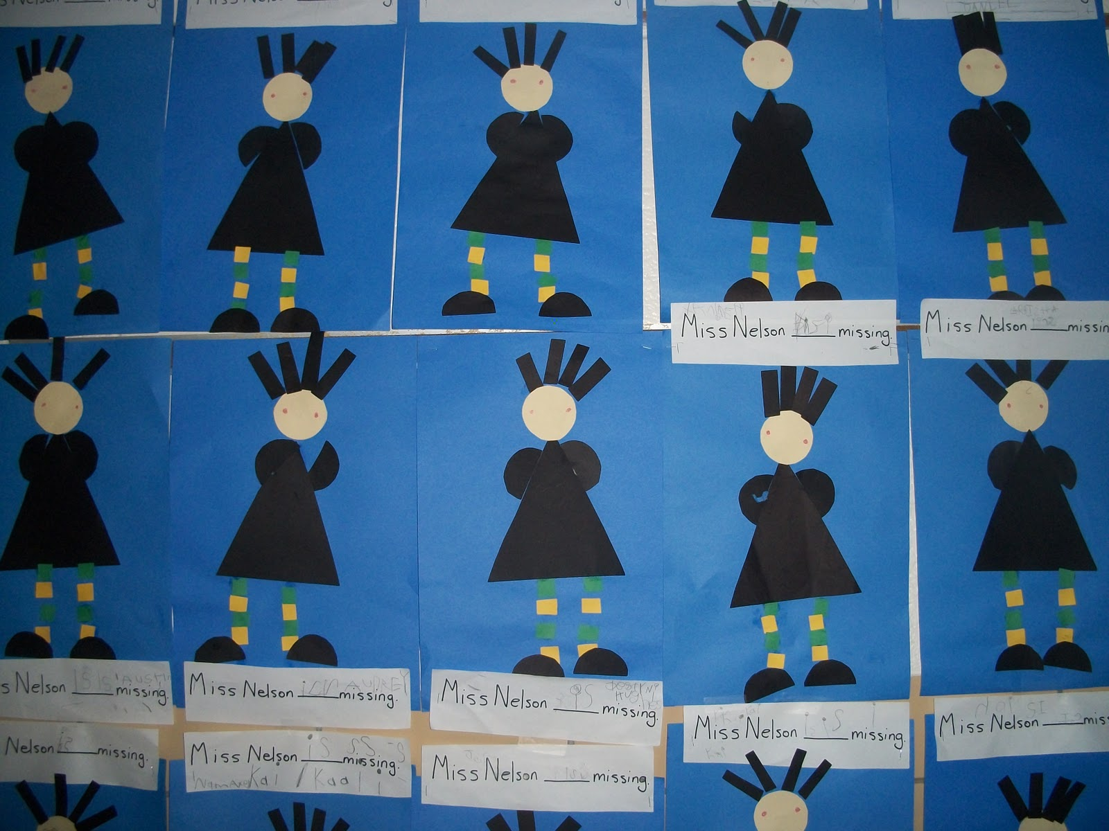 Mrs Dramados Class Miss Nelson is Missing – Miss Nelson is Missing Worksheets