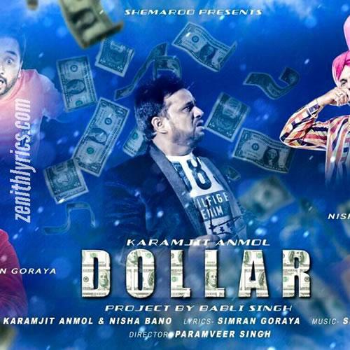 Dollar - Karamjit Anmol