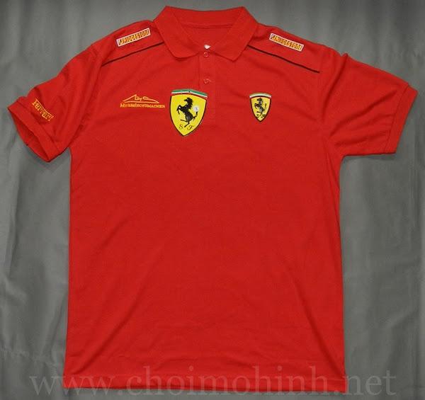 Kết quả hình ảnh cho áo thun Ferrari