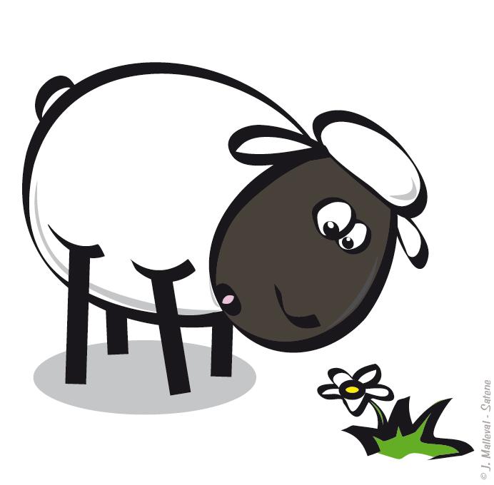 Allez zou un peu d 39 humour dans ce monde de brutes - Mouton en dessin ...