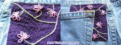 Como consertar calça jeans rasgada