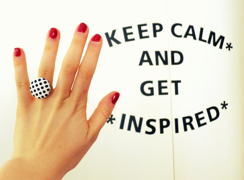 KEEP CALM AND GET INSPIRED