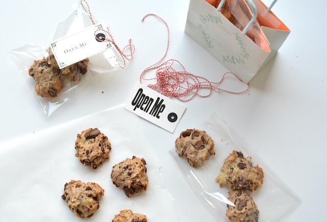 Cookies banane chocolat vegan et sans gluten