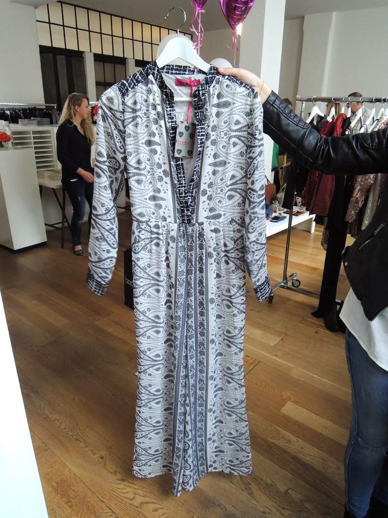 Boohoo Maxikleid Kimono Ethno Hippie Look