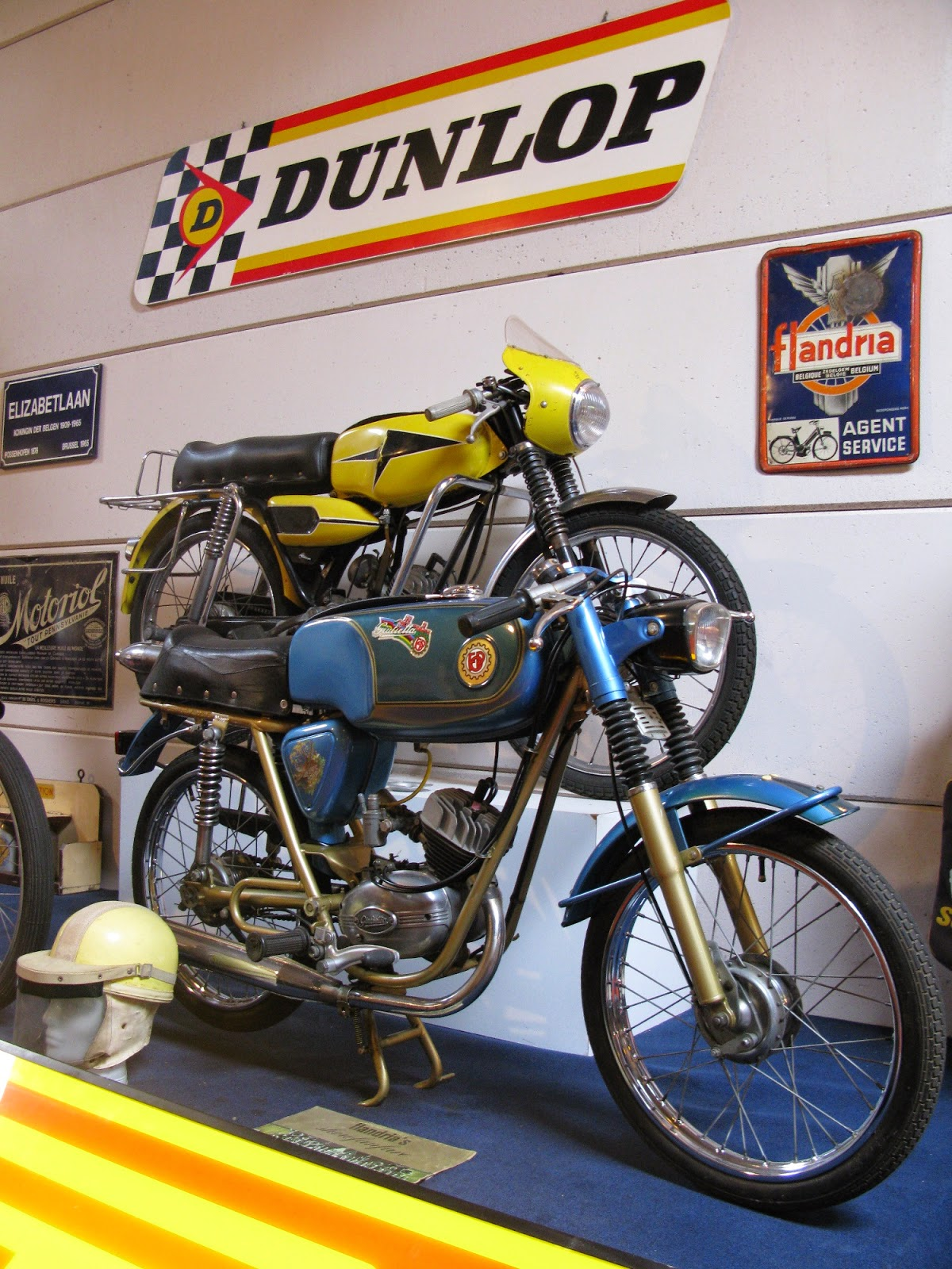 Guiletta and Flandria sports mopeds